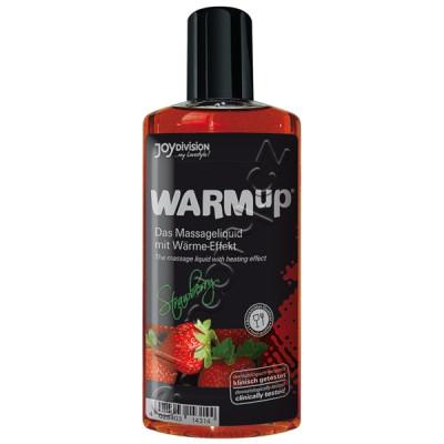 Joydivision WARMup Jahoda Masážní olej 150ml