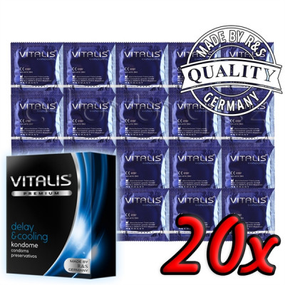 Vitalis Premium Delay & Cooling 20ks