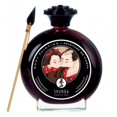 Shunga Body Painting Aphrodisiac Chocolate 100ml