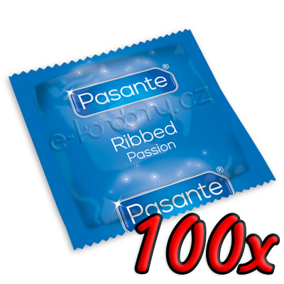 Pasante Ribbed Passion 100ks