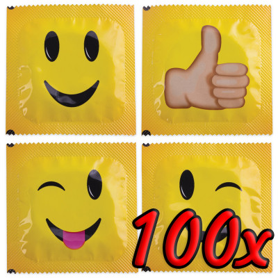 Pasante Smiley Face 100 pack