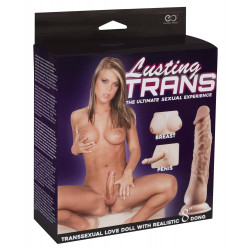 """NMC Lusting TRANS Transsexual Love Doll with Realistic 8"""" Dong"""