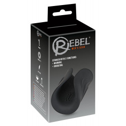 Rebel Stroker with 2 Functions 550680 Black