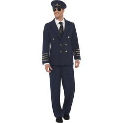 Fever Pilot Costume Navy Blue 28621