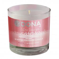 Dona Massage Candle Blushing Berry 135g