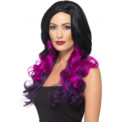 Fever Deluxe Ombre Wig Purple 48903