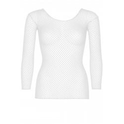 Leg Avenue Long Sleeves T-Shirts 8278 White