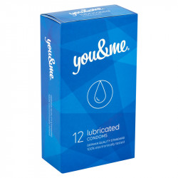 you&me Lubricated Condoms 12ks