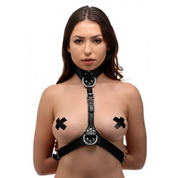 Strict Female Chest Harness Black