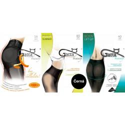 Gatta akční balíček zeštíhlujících punčoch - Zeštíhlující punčochy Černá 3ks
