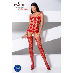 Passion Bodystocking BS067 Red