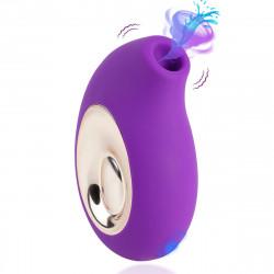 Paloqueth Powerful Clitoral Sucking Vibrator Purple