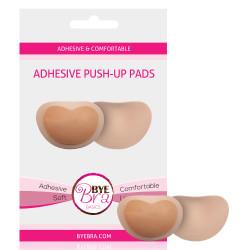 Bye Bra Adhesive Push-Up Pads Nude