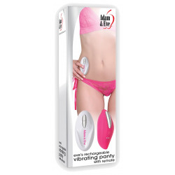 Adam & Eve Eve's Rechargeable Vibrating Panty with Remote