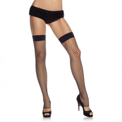 Leg Avenue Footless Thigh Highs 9089 - Samodržící punčochy