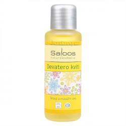 Saloos Devatero kvítí - Bio tělový a masážní olej 50ml
