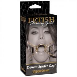 Fetish Fantasy Gold Deluxe Spider Gag