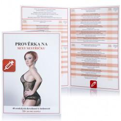 Erotická hra Prověrka na sexy sestřičku
