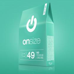 Onsize 49 Premium Condoms 50 pack