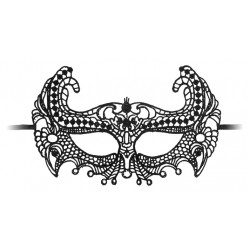 Ouch! Empress Black Lace Mask Black
