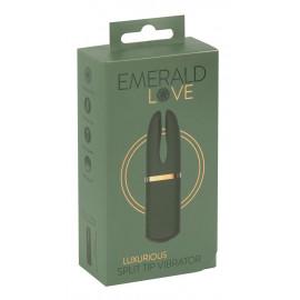 Emerald Love Luxurious Split Tip Vibrator