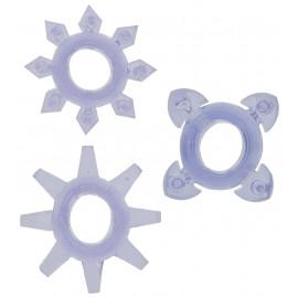 ToyJoy Tickle C-Rings Purple