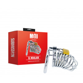 MOI Submission El Roulade Chromed Male Chastity Device 50mm