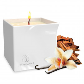 Jimmyjane Afterglow Natural Massage Oil Candle Vanilla Sandalwood 127g