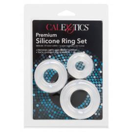 California Exotics Premium Silicone Ring Set