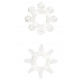 ToyJoy Power Stretchy Rings Transparentní 2ks