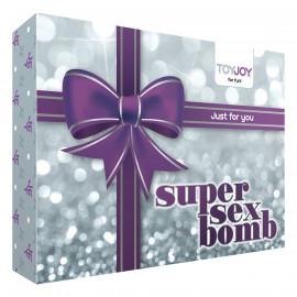 ToyJoy Super Sex Bomb Fialová