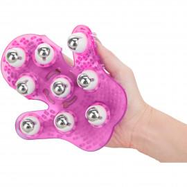 Simple & True Roller Balls Massager Pink