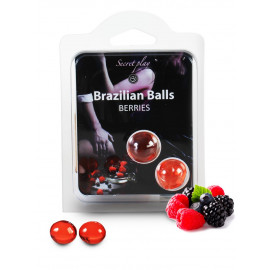 Secret Play Brazilian Balls Berries 2 pack