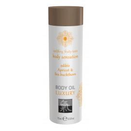 Shiatsu Luxury Body Oil Edible Apricot & Sea Buckthorn 75ml