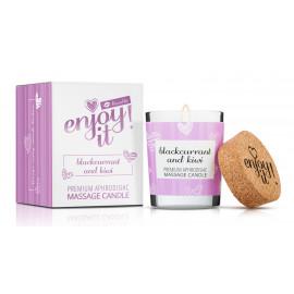 Magnetifico Enjoy it! Massage Candle Blackcurrant and Kiwi 70ml