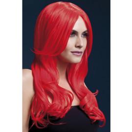 Fever Khloe Wig 42547 - Paruka Neonovo-červená