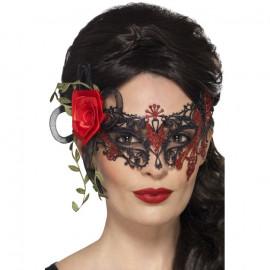 Fever Day of the Dead Metal Filigree Eyemask 44957 - Maska na oči