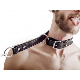 Mister B FETCH Leather Choking Collar
