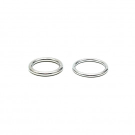 Rimba Welded Metal Cockring Set 7370 30 + 35mm