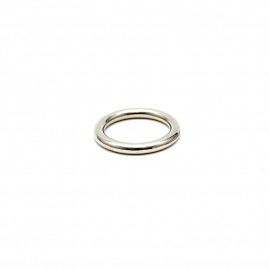 Rimba Solid Metal Cockring 8mm Thick 7371 40mm