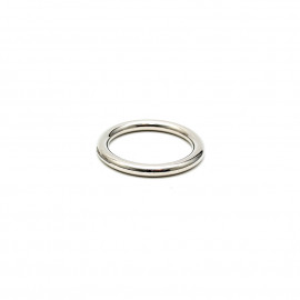 Rimba Solid Metal Cockring 8mm Thick 7371 45mm