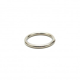 Rimba Solid Metal Cockring 8mm Thick 7371 50mm
