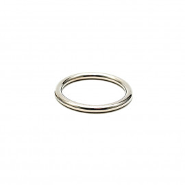 Rimba Solid Metal Cockring 8mm Thick 7371 55mm