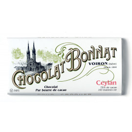 Bonnat Ceylan 75% 100g