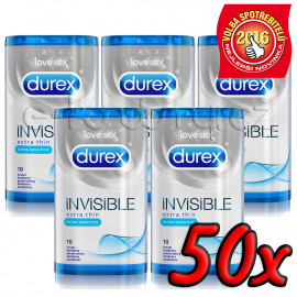 Durex Invisible Extra Sensitive 50ks
