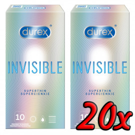 Durex Invisible Superthin 20 pack