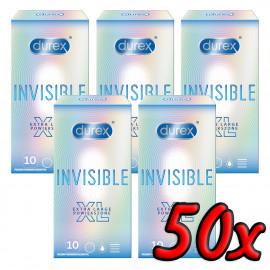 Durex Invisible XL 50 pack