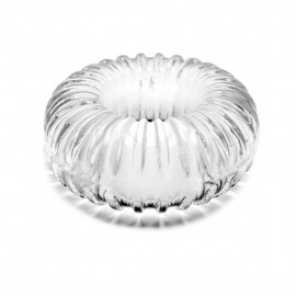 Perfect Fit Ribbed Ring Clear