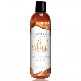 Intimate Earth Oral Pleasure Glide Salted Caramel 120ml
