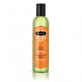 KamaSutra Naturals Massage Oil Tropical Fruits - Přírodní masážní olej Tropické ovoce